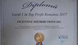 Comunicat Presa SCENTAIR – specialistii Aroma Marketing, locul I in Top Profit Romania